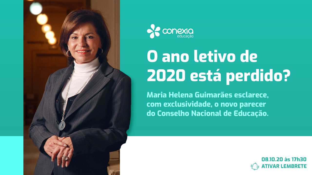 Nova presidente do CNE participa de live exclusiva sobre a nova resolução para a educação remota