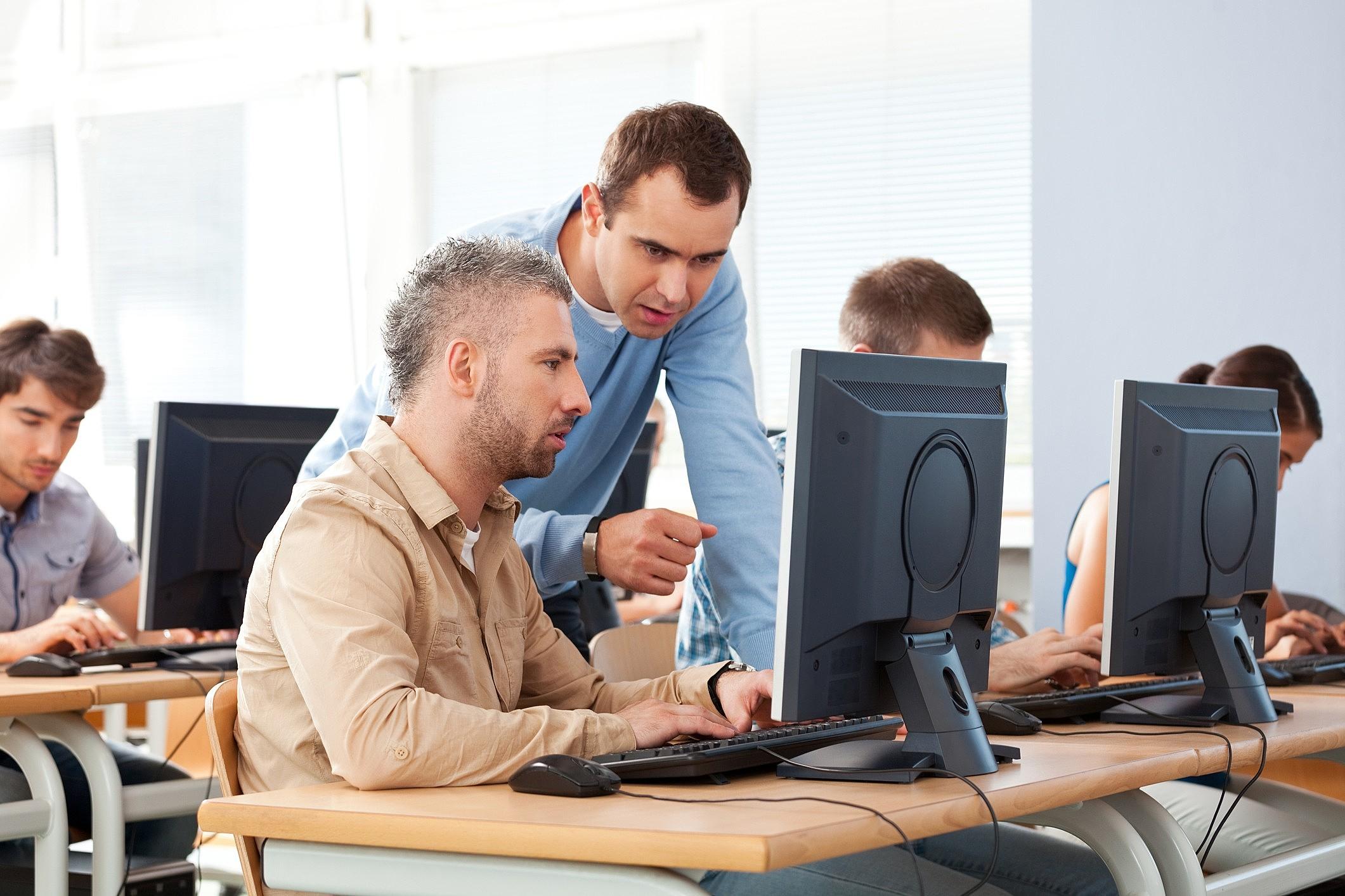Treinamento online para professores